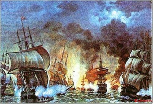 1 декабря - день победы русской эскадры под командованием пс нахимова над